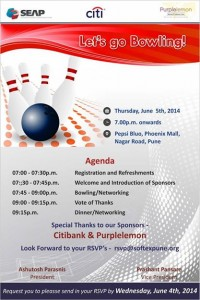 Bowling & Networking Event 2014
